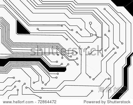 向量电路板 - 插图/剪贴图,科技 - 站酷海洛创意正版