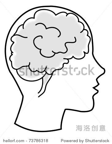大脑- 医疗保健,插图/剪贴图 - 站酷海洛创意正版图片图片