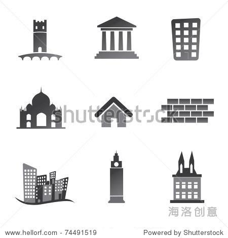 旧建筑图标设置