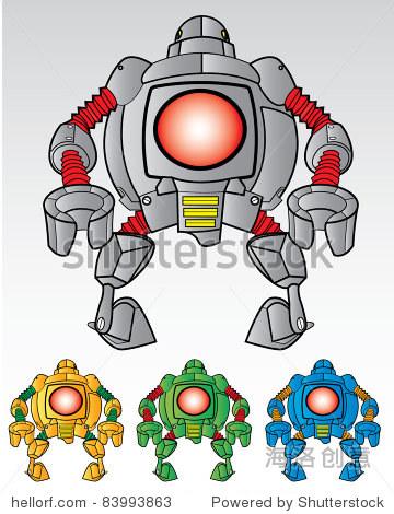 小脑袋机器人 - 科技,科学 - 站酷海洛创意正版图片