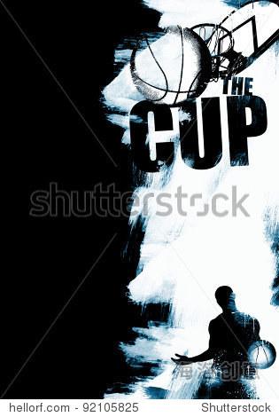 篮球广告背景(杂志,网络,海报,传单……)