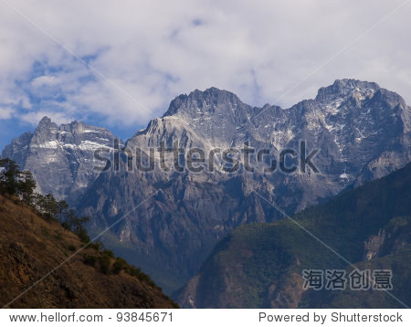 Scenic view Jade Dragon Snow Mountain