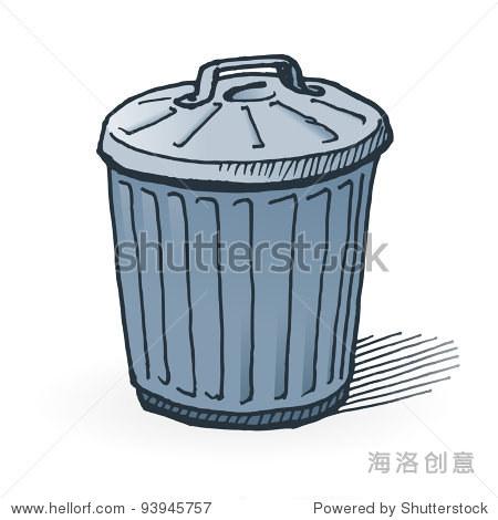 美国的垃圾桶 - 艺术,物体