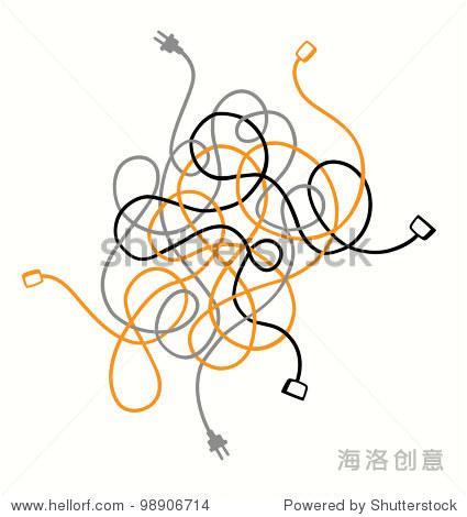 简笔画 设计 矢量 矢量图 手绘 素材 线稿 425_470