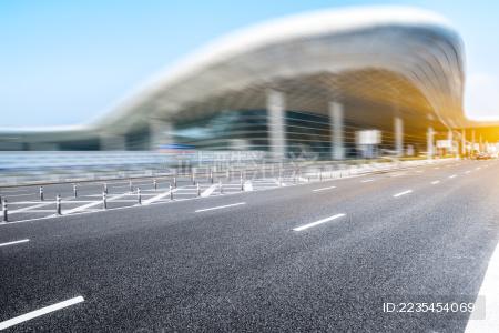 空公路与深圳,中国的城市景观和天际线。