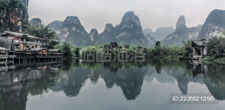 中国广西崇左明仕田园自然风光 - 站酷海洛 - 正版