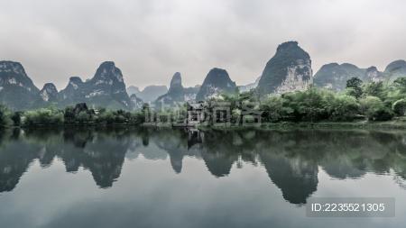 中国广西崇左市明仕田园自然风光 - 站酷海洛 - 正版
