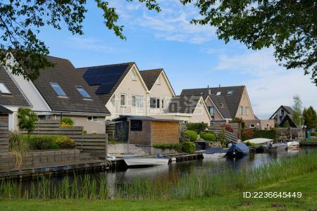 欧洲旅游荷兰羊角村 - 站酷海洛 - 正版图片,视频