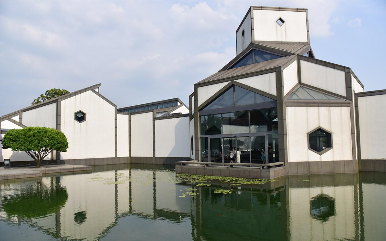 """苏州博物馆资料图 其设计者""""华裔建筑大师""""贝聿铭于16日去世"""