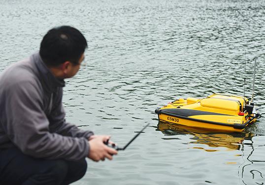 智能无人监测船助力水体治理智慧化