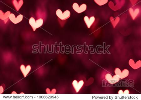 Valentine day. Hearts background