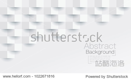 White abstract texture. Vector background 3d paper art style can be used in cover design  book design  poster  cd cover  website backgrounds or advertising.
