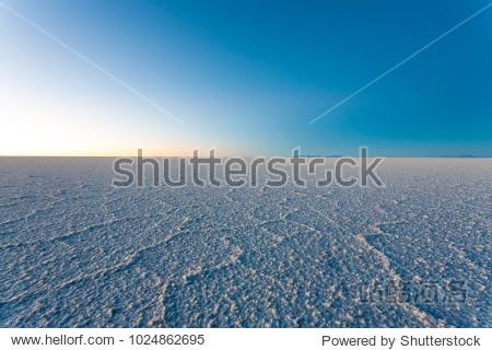 Salar de Uyuni  Bolivia. Largest salt flat in the world. Bolivian landscape