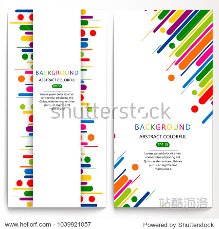 Tendy illustration background card  pattern with abstract shapes  geometric hologram style.