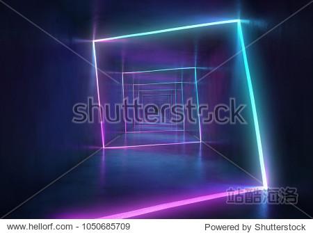 Helix neon background
