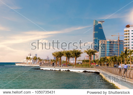 Jeddah Cityscape and Landmarks