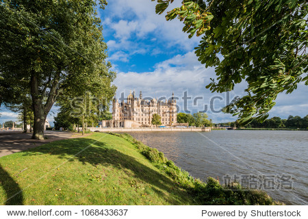 Schwerin Palace  or Schwerin Castle (Schweriner Schloss)  located in the city of Schwerin  the capital of Mecklenburg-Vorpommern state  Germany
