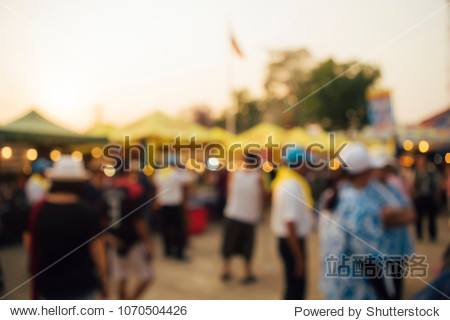 Festival Event day Blurred defocused Bokeh abstract Background