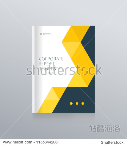 cover design template background for brochure  flyer  magazine  annual report  and presentation . vector for editable.
