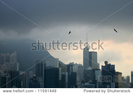 Storm over Happy Valley, Hong Kong