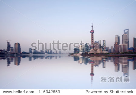 Shanghai Pudong morning