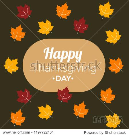 Thanksgiving Day card Thanksgiving banner