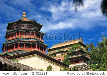 Beautiful Summer palace, Beijing, China