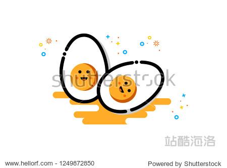 Egg icon  mbe style logo