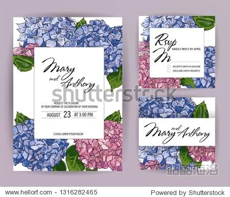 Wedding Invitation  berry invite card Design: Hand drawn colorful marker illustration. Doodle sketch line Raspberry  strawberry  cherry blueberry on white background frame print. Vector menu  rsvp set