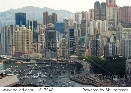 Causeway Bay Typhoon Shelter, Hong Kong.