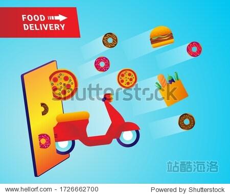 Food mobile online delivery service