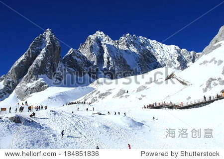 Jade Dragon Snow Mountain in China