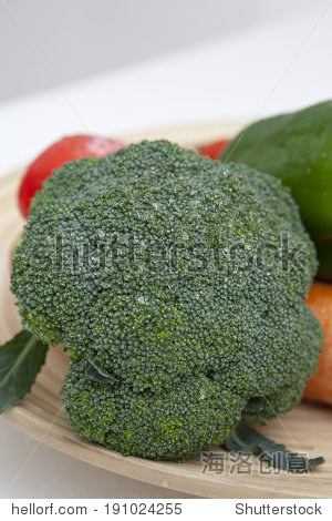 the image of fresh vegetables