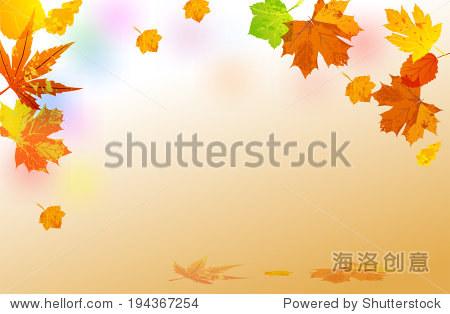 Autumn. leaves