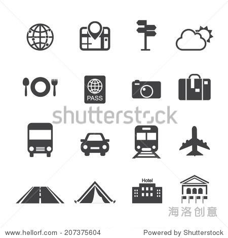 travel & transport icons