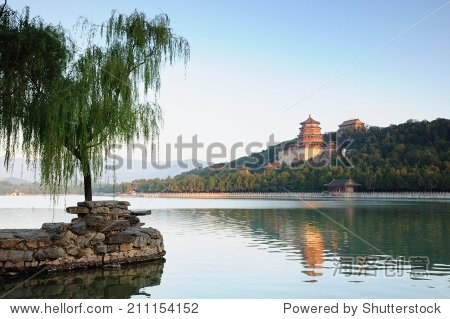Beijing the Summer Palace in the morning