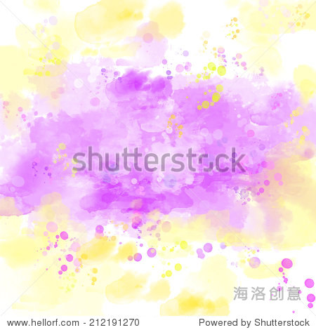 Artistic background paint texture with watercolor splashes  blots and stains. Raster image.