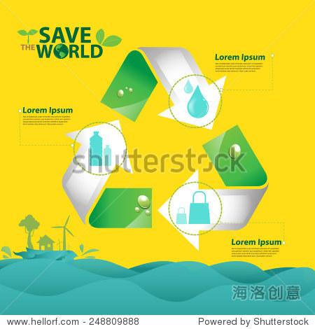 eco green illustration