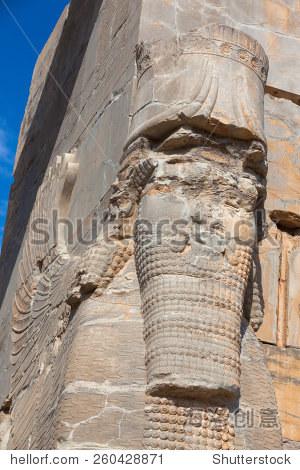 Pesepolis  world  heritage archeological site  Persia  Iran