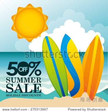 summer sale design  vector illustration eps10 graphic