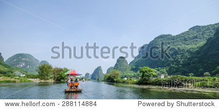 China Guilin Yangshuo Yulong River