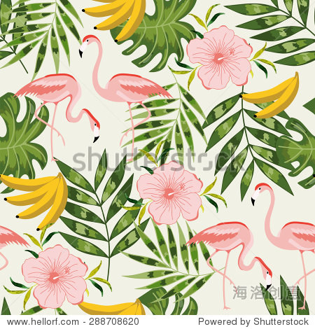 Beautiful seamless pattern with summer flowers. Bright illustration, can be used for creating card, invitation card for wedding, wallpaper and textile.