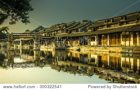 Xitang ancient town , Xitang is first batch of Chinese historical and cultural town, located in Zhejiang Province, China.