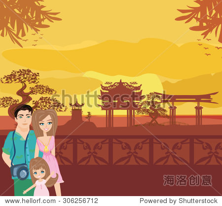Family vacation in China