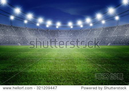 field of stadium