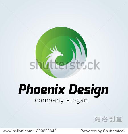 Phoenix Logo Vector Logo Template