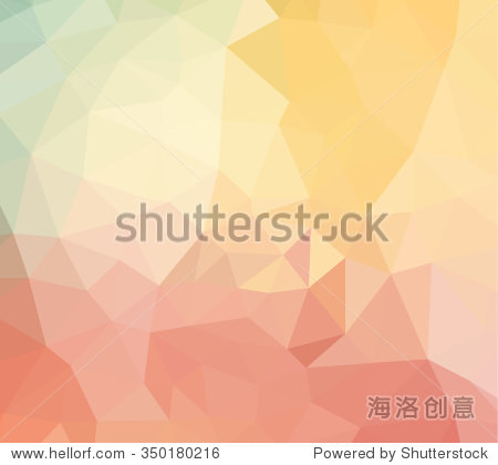 Vector abstract colorful Blurred triangles