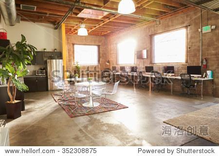 Empty Interior Of Modern Design Office