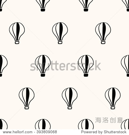 seamless pattern  balloon art  background design for fabric and decor