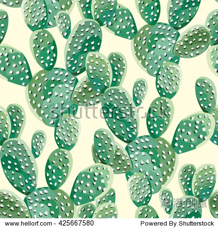 cactus seamless background
